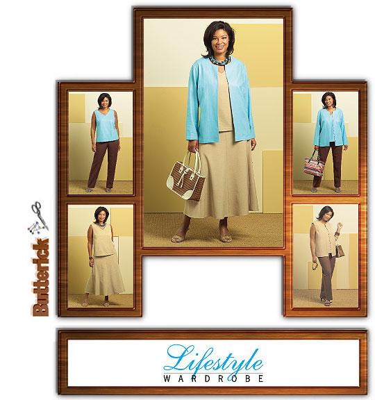 Butterick Lifestyle Wardrobe 4817