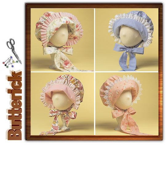 Butterick Infant's Bonnet 4820