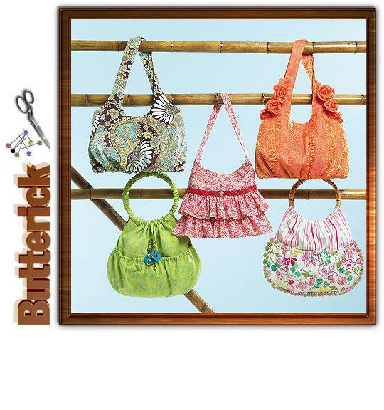 Butterick Handbags 4822