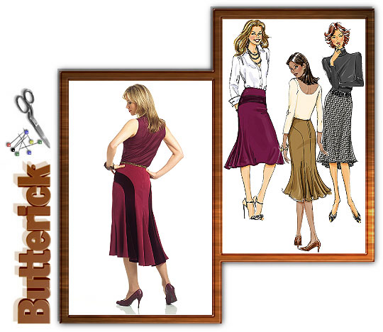 Butterick Misses Skirts 4859