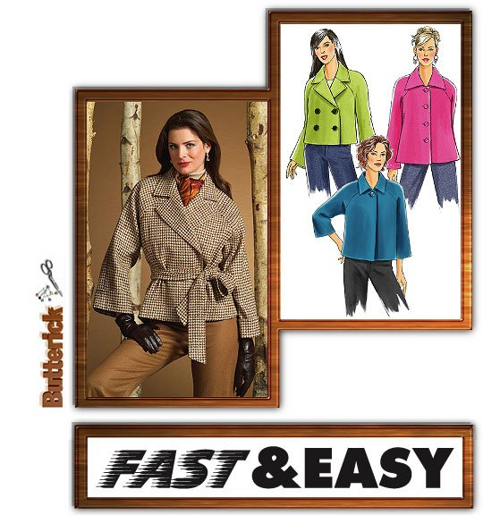 Butterick Jacket, Dress & Pants 4865