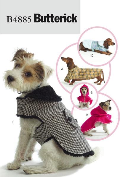 Butterick Dog Coats 4885