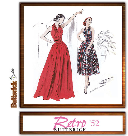 Butterick Retro '52 Misses Dress 4919