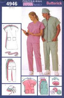 Butterick Hospital Gown 4946