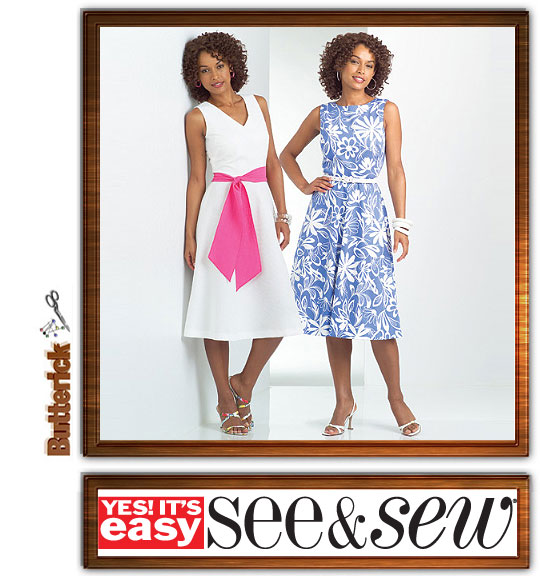 Butterick See & Sew Dress 4957