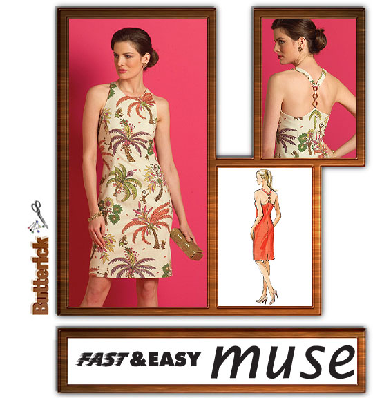 Butterick fast and easy dress 4974