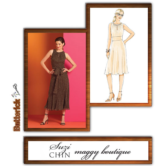 Butterick Suzi Chin Maggy Boutique 4978