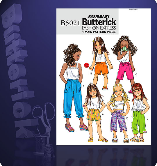 Butterick fashion express 5021