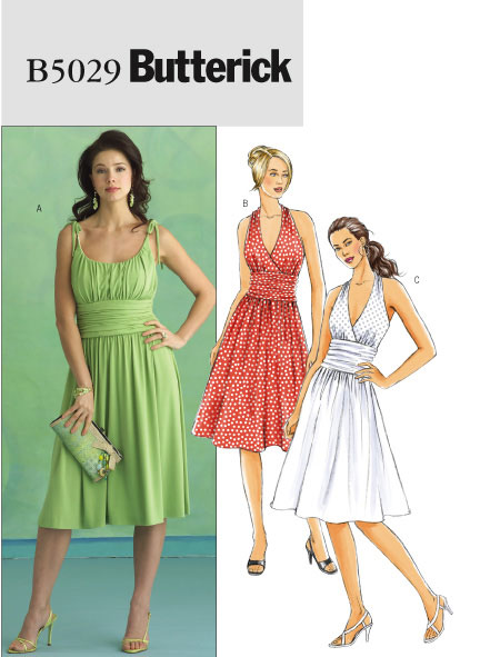 Butterick Misses Dress 5029