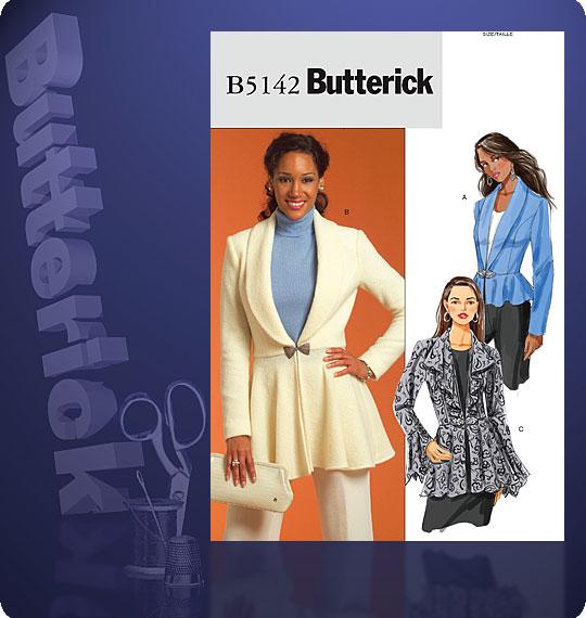 Butterick Jacket 5142