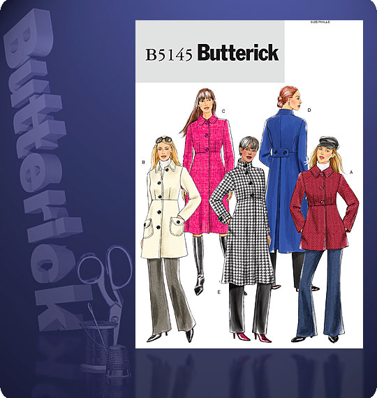 Butterick Misses Coat 5145