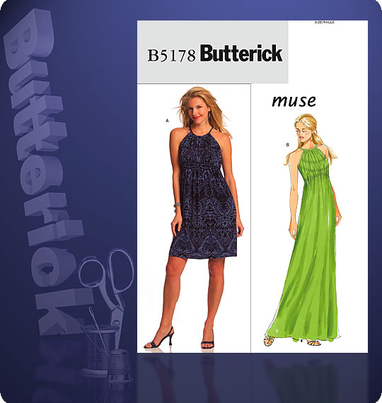 Butterick Knit Dresses 5178