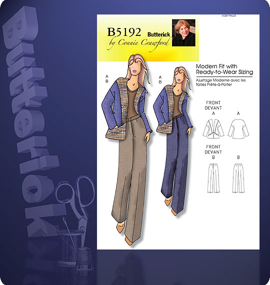 Butterick Connie Crawford 5192