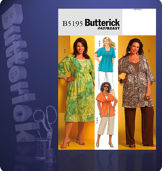 Butterick Fast & Easy 5195