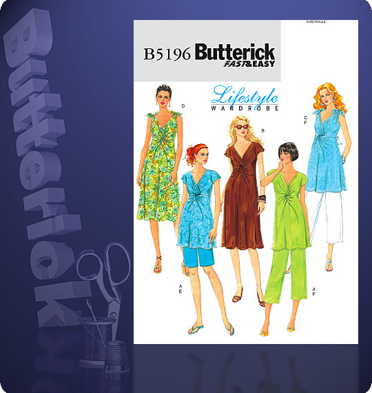 Butterick Butterick Classics Fast&Easy 5196