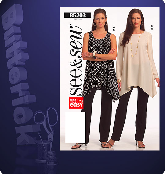 Butterick See & Sew 5203