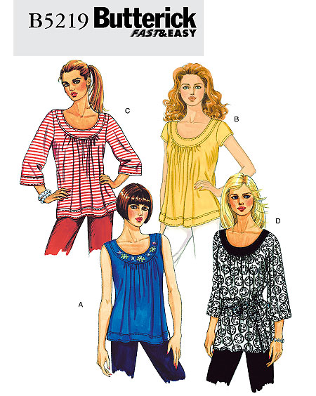 Butterick Fast & Easy 5219