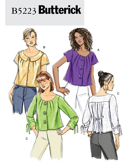 Butterick Misses' Jacket 5223