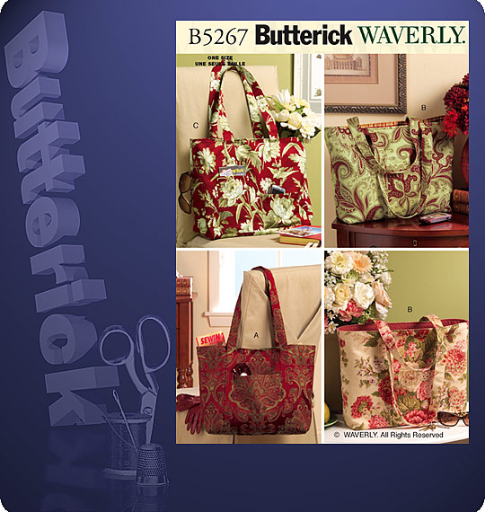 Butterick Tote Bags 5267
