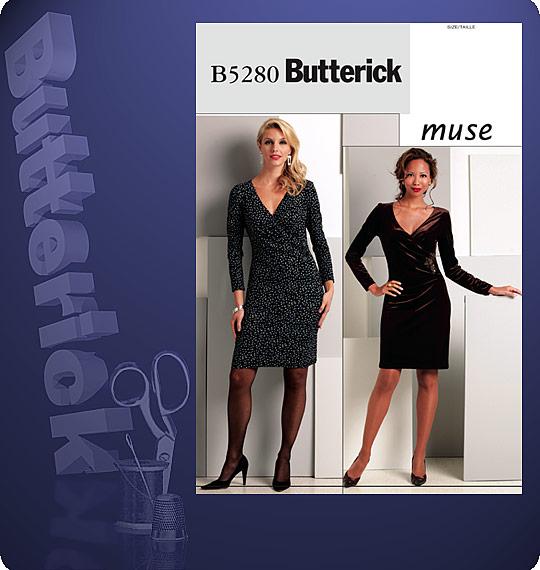 Butterick One-piece dress, pants, shorts 5280