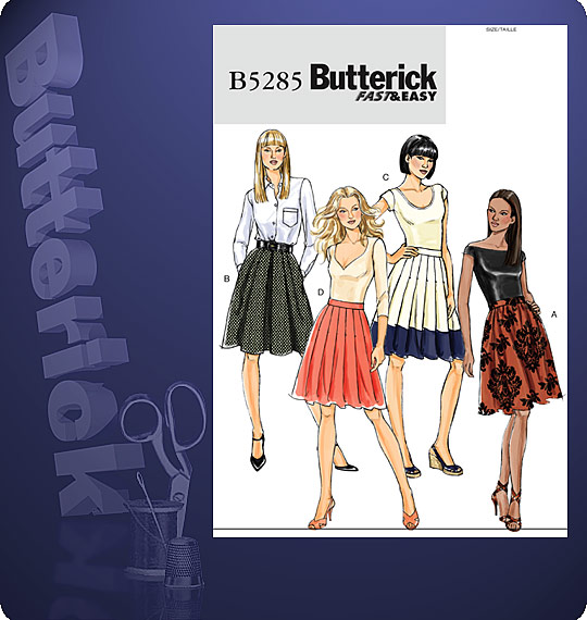 Butterick Girls' dress and jumpsuit 5285