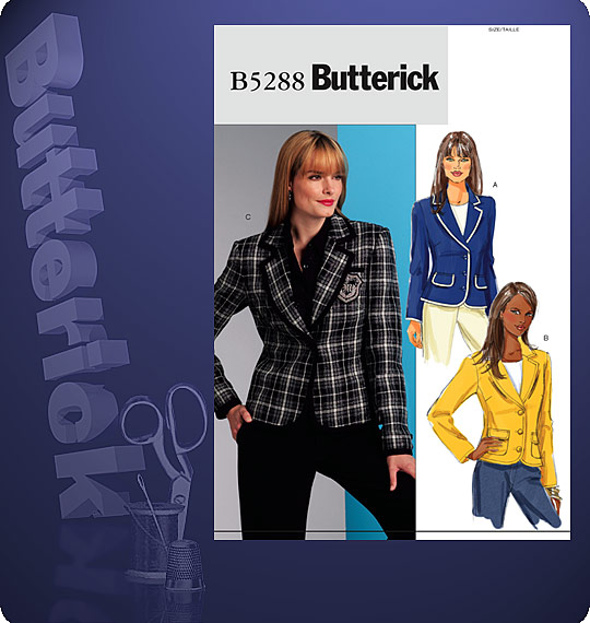 Butterick Jackets 5288