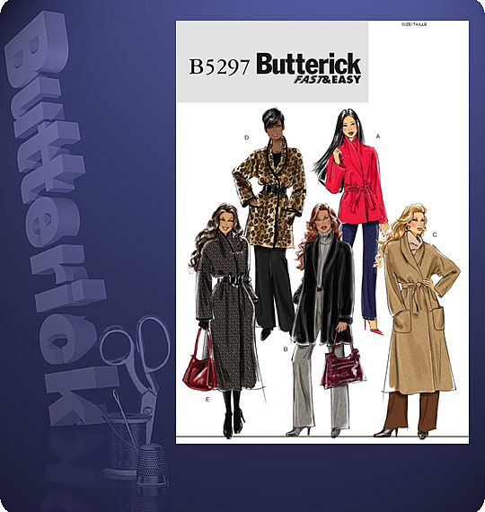 Butterick Fast & Easy 5297