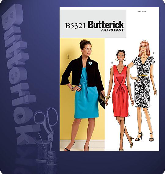 Butterick Misses Jacket & Dress 5321