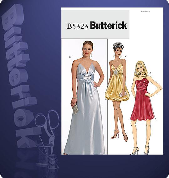 Butterick Misses\' Dress 5323