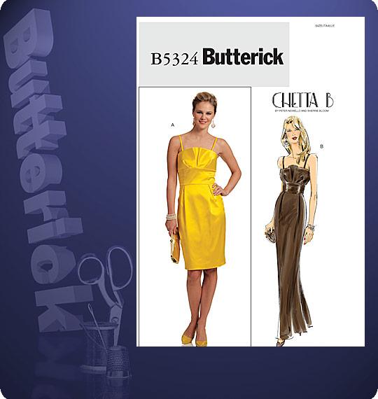 Butterick Chetta B formal dress 5324