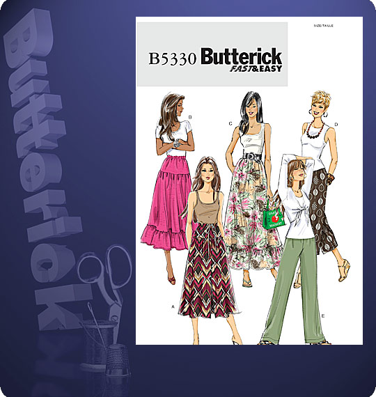 Butterick fast & easy 5330