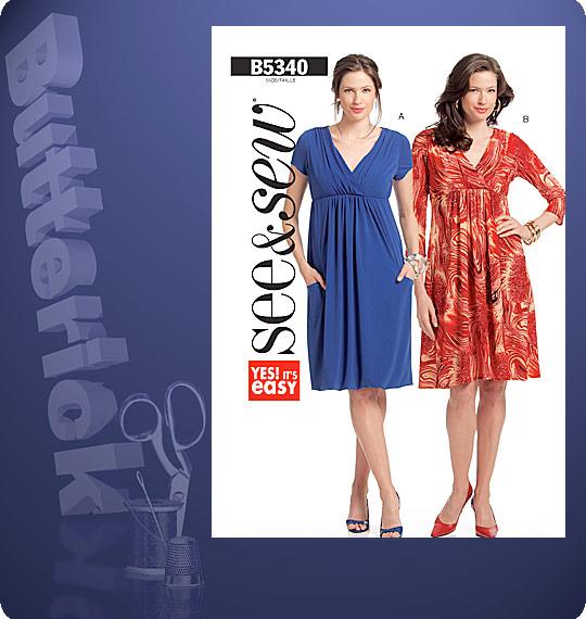 Butterick Misses' Dress 5340