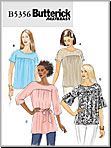 Butterick 5356 Pattern ( Size XSM-SML-MED )