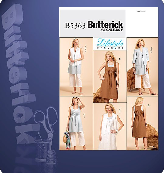 Butterick Lifestyle Wardrobe 5363