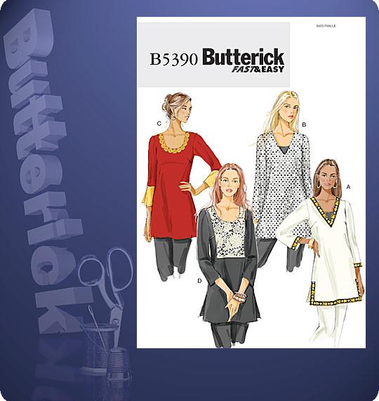 Butterick Skirt 5390
