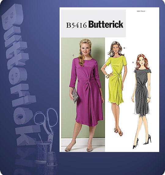 Butterick  MISSES' DRESS 5416