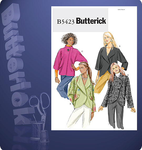 Butterick  MISSES' JACKET 5423