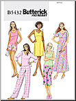 Butterick 5432 Pattern