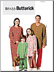 Butterick 5433 Pattern ( Size 3-12 )