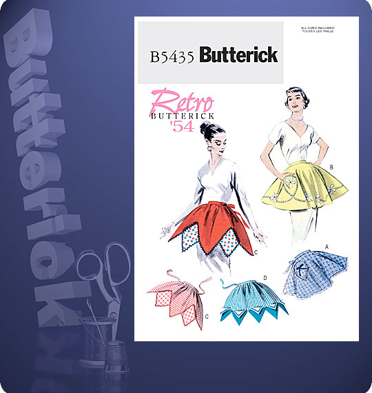 Butterick APRONS 5435