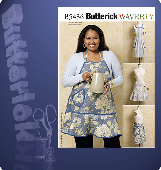 Butterick APRONS 5436