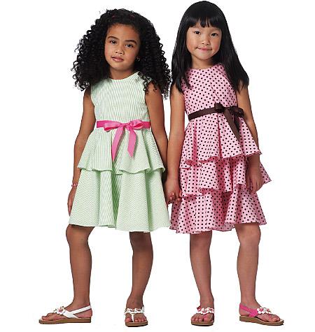 Butterick Children's/Girls' Dress 5443