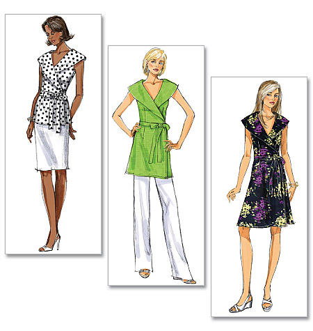 Butterick Misses' Top, Tunic and Dress 5451