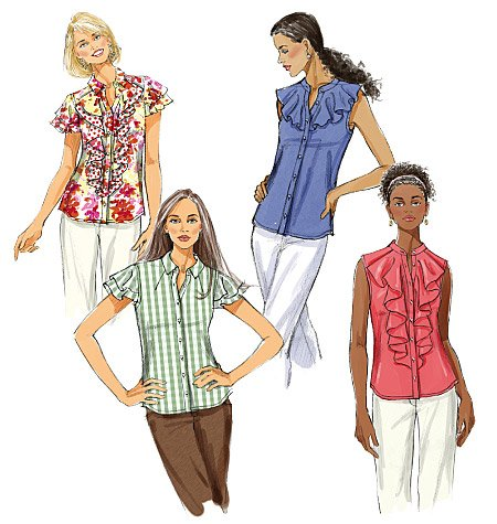 Butterick Misses' Blouse 5464