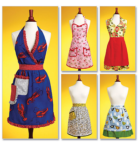 Butterick Aprons 5474