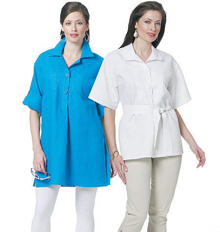 Butterick Misses' Top, Belt and Tunic 5481