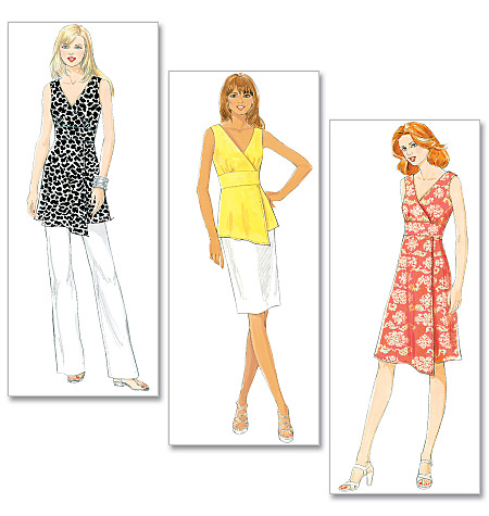 Butterick Misses' Top, Tunic and Dress 5485