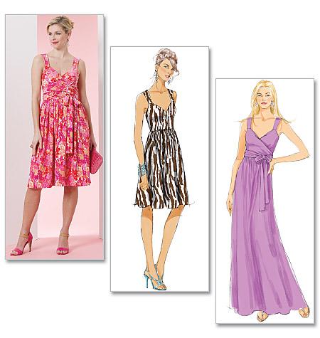 Butterick Misses' Dress 5486
