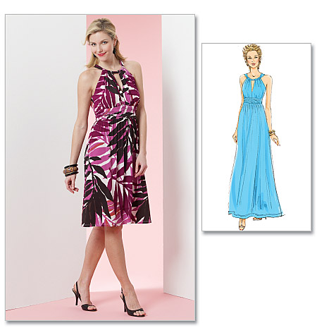 Butterick Misses' Dress 5491