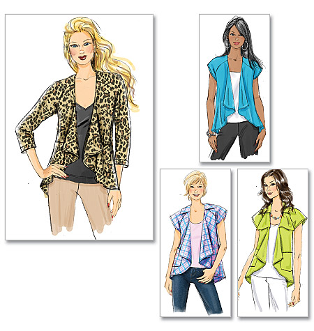 Butterick Misses' Jacket 5498
